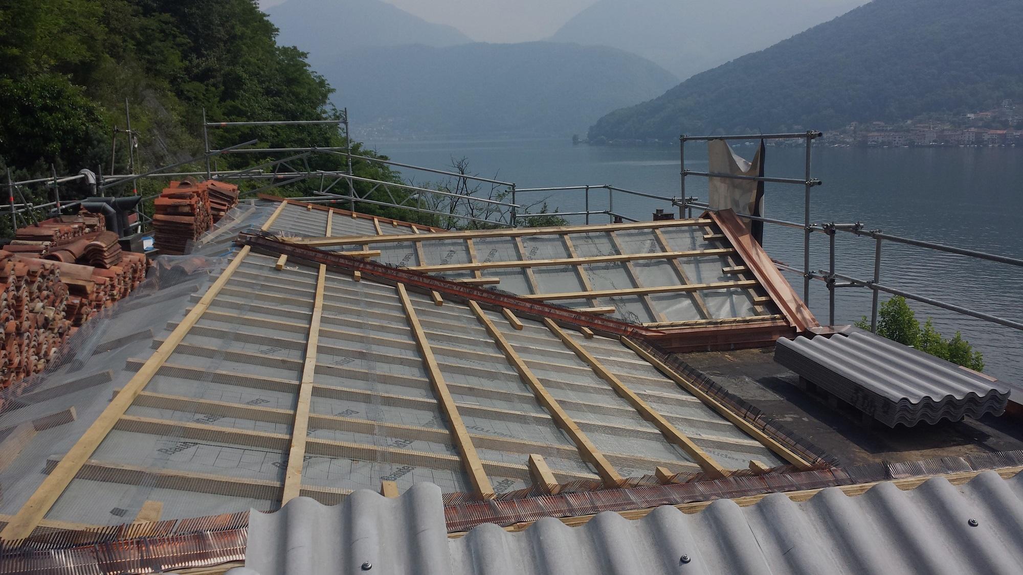 Rifacimento tetti | RISI Carpenteria - Ticino - Svizzera