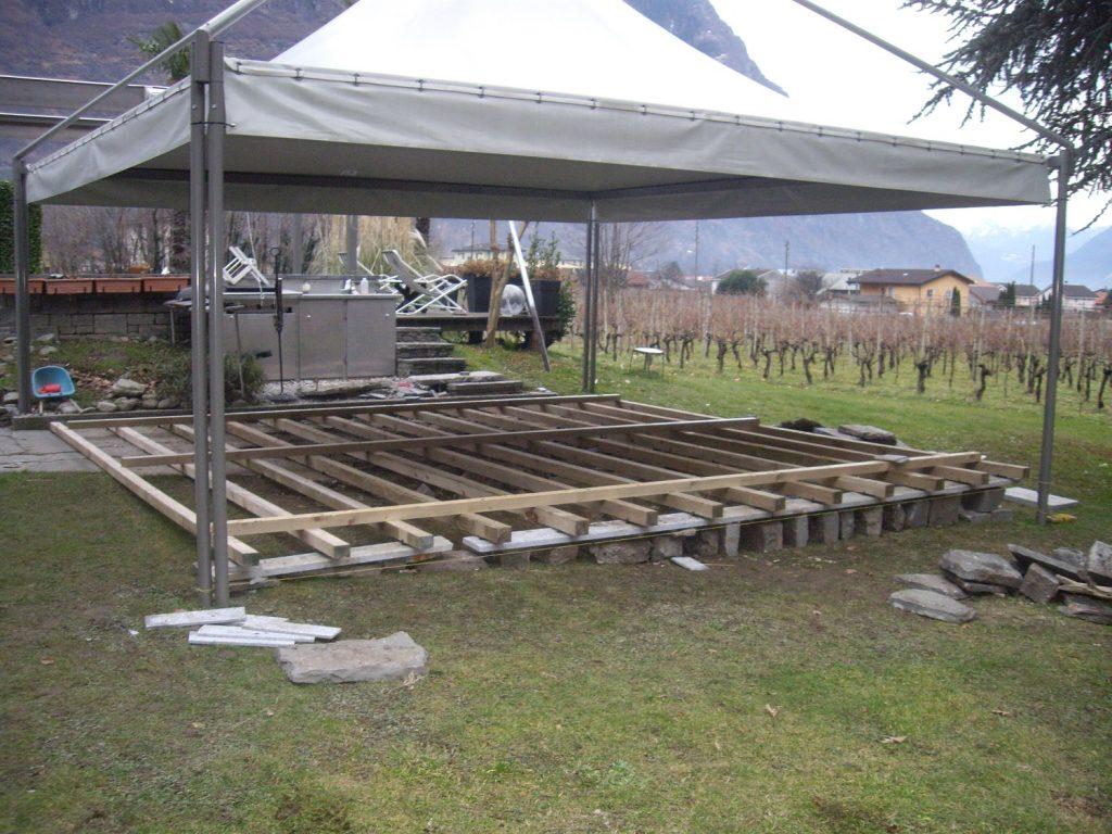 2 pavimentazioni esterne WPC | RISI Carpenteria SA - Ticino