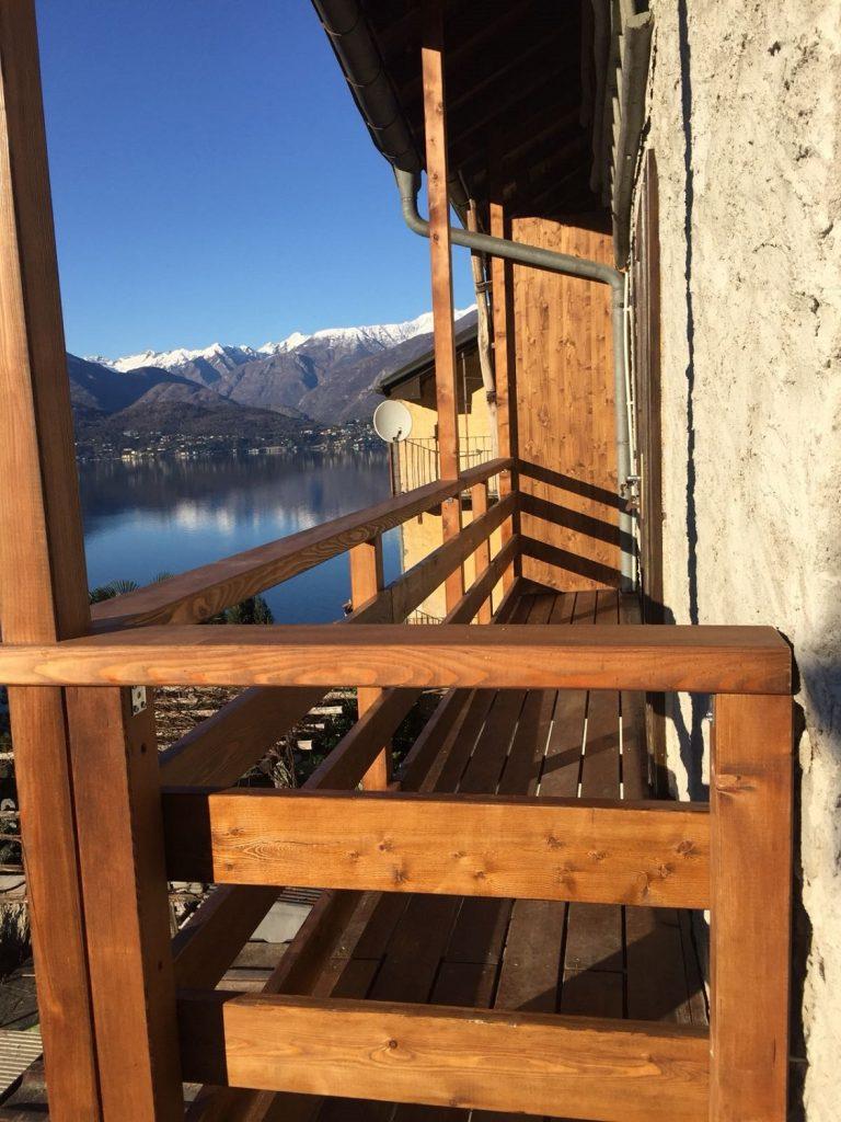 Risanamento balcone a Caviano | RISI Carpenteria SA - Ticino - Svizzera