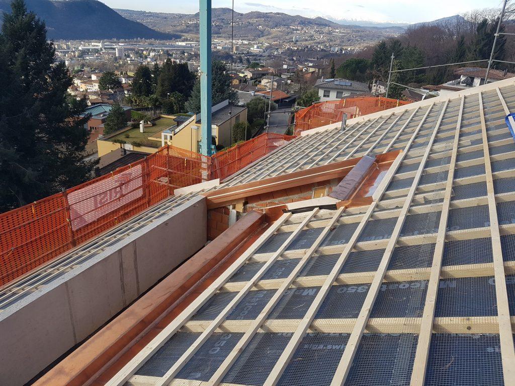2 Nuova edificazione a Vacallo - Carpe | RISI Carpenteria SA - Ticino - Svizzera