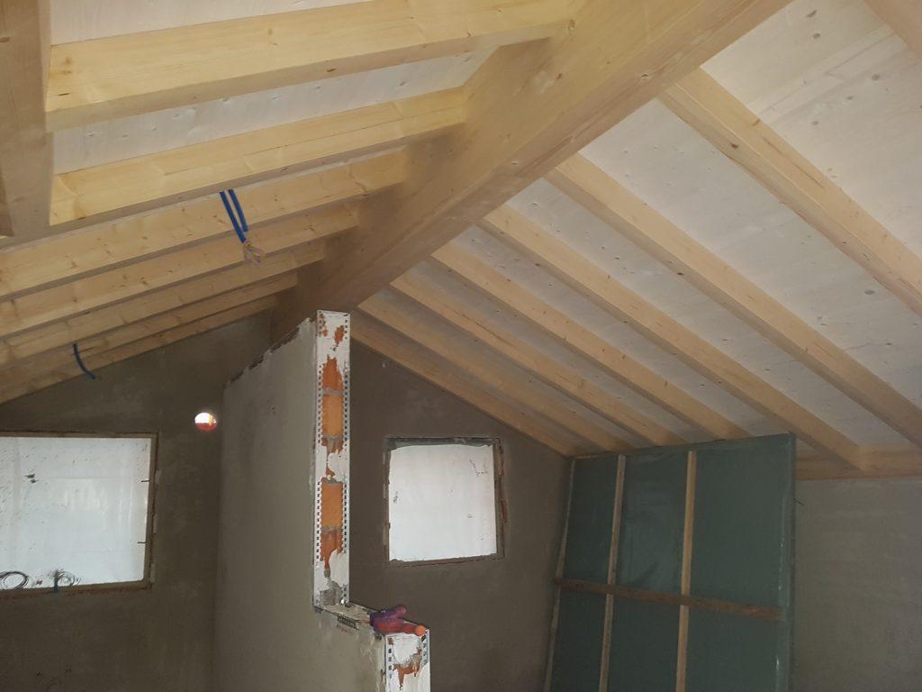 Nuova edificazione a Vacallo - Carpe | RISI Carpenteria SA - Ticino - Svizzera