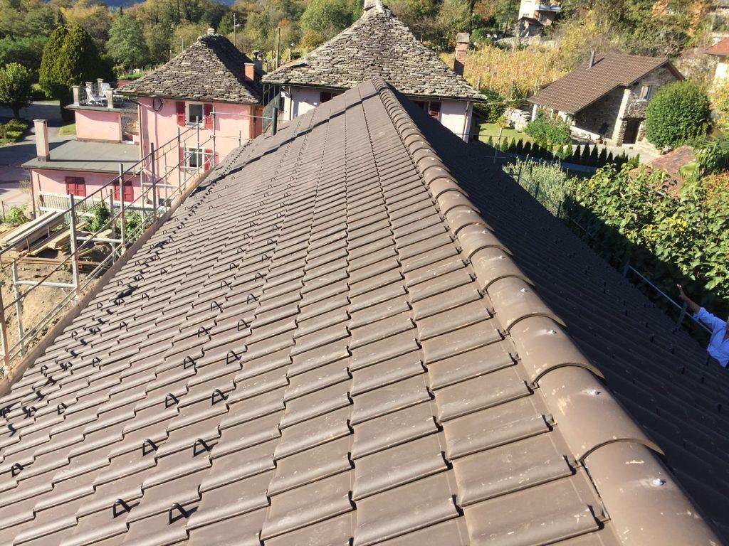 2 Nuova edificazione a Claro - carpenteria tetto in legno, isolazione termica e copertura | RISI Carpenteria SA - Ticino