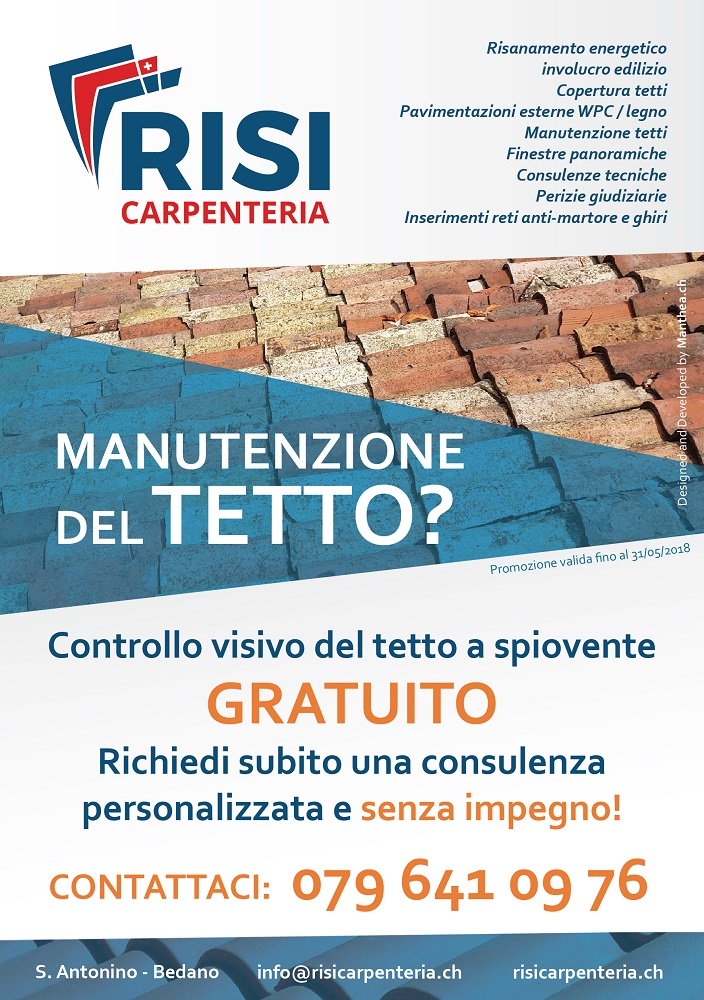 Promozioni e Risorse | RISI Carpenteria SA - Ticino - Svizzera