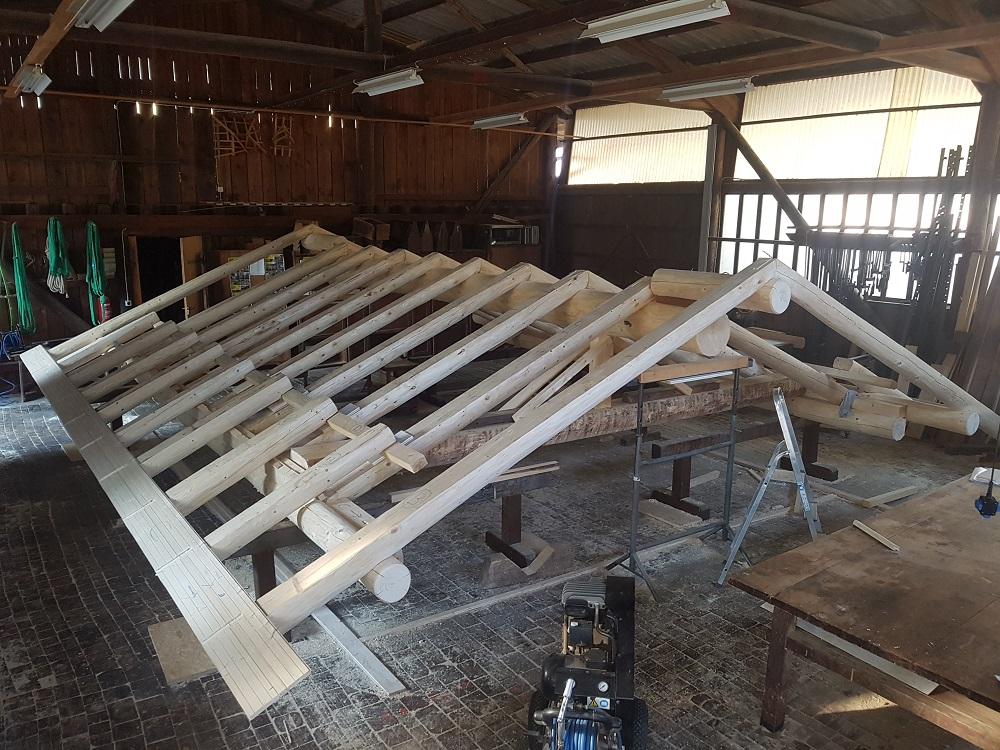 2 tetto in produzione risi carpenteria