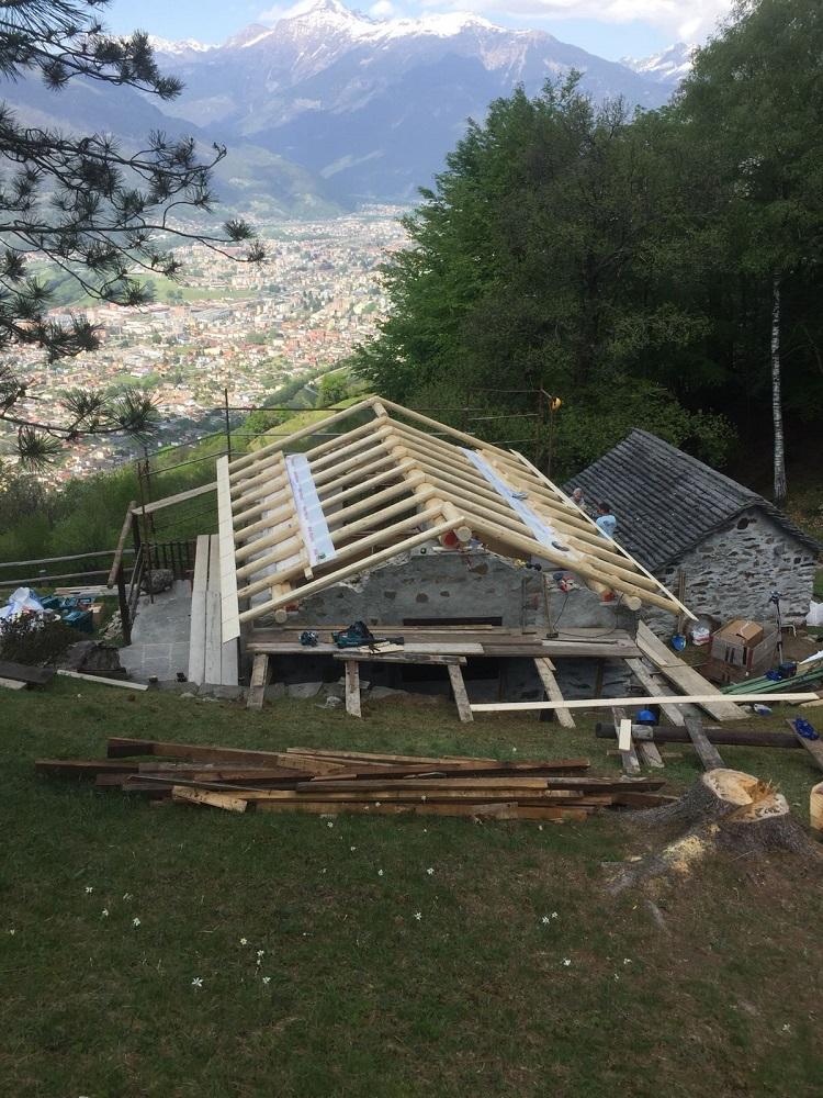 3 tetto in posa risi carpenteria