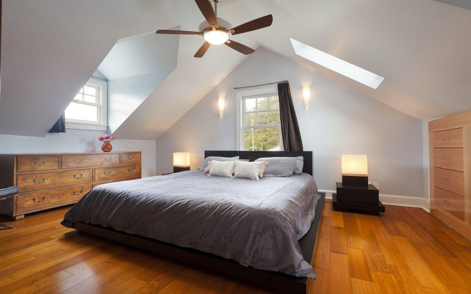 Come rendere la mansarda una stanza bella e luminosa 1