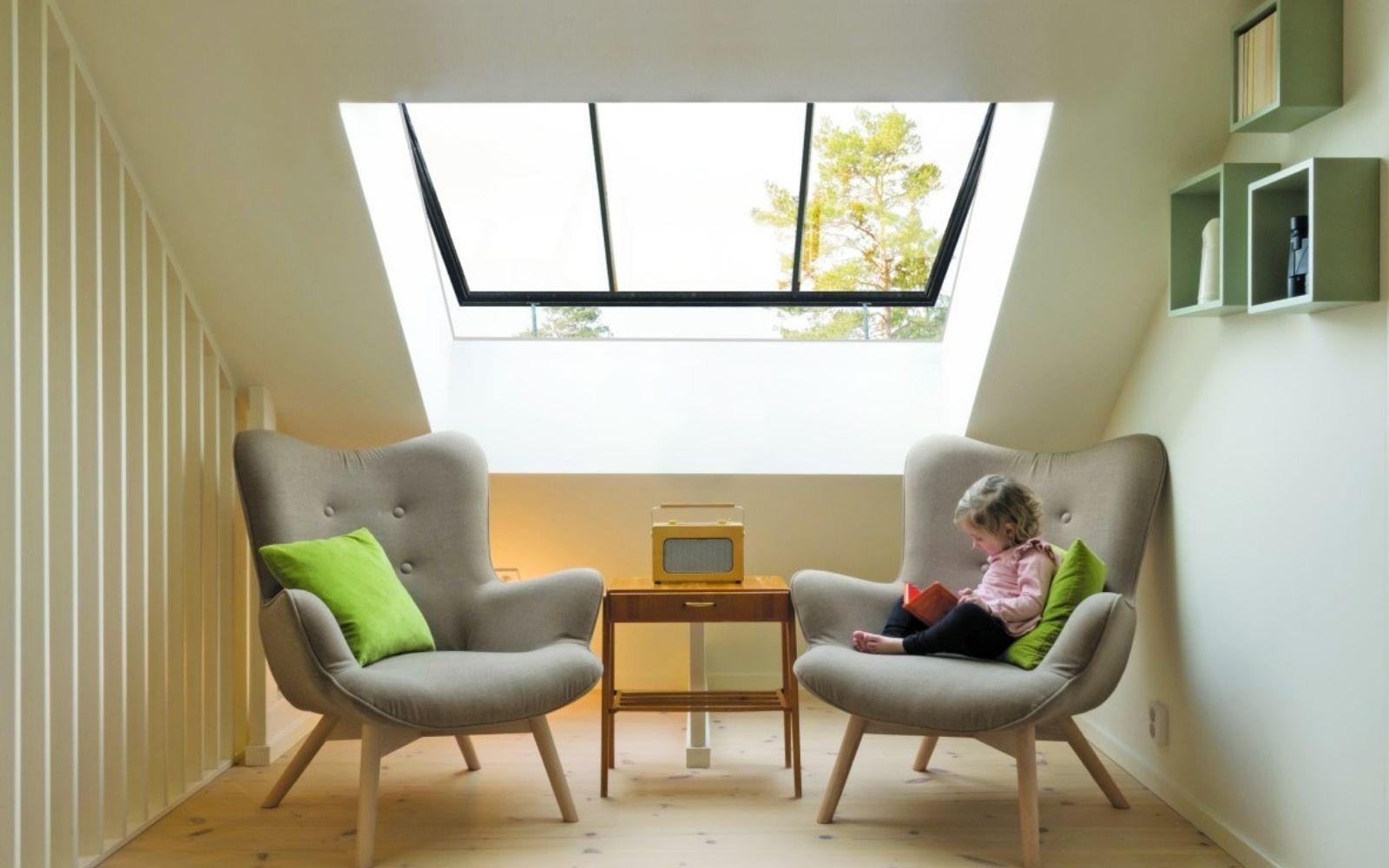 Come rendere la mansarda una stanza bella e luminosa 4