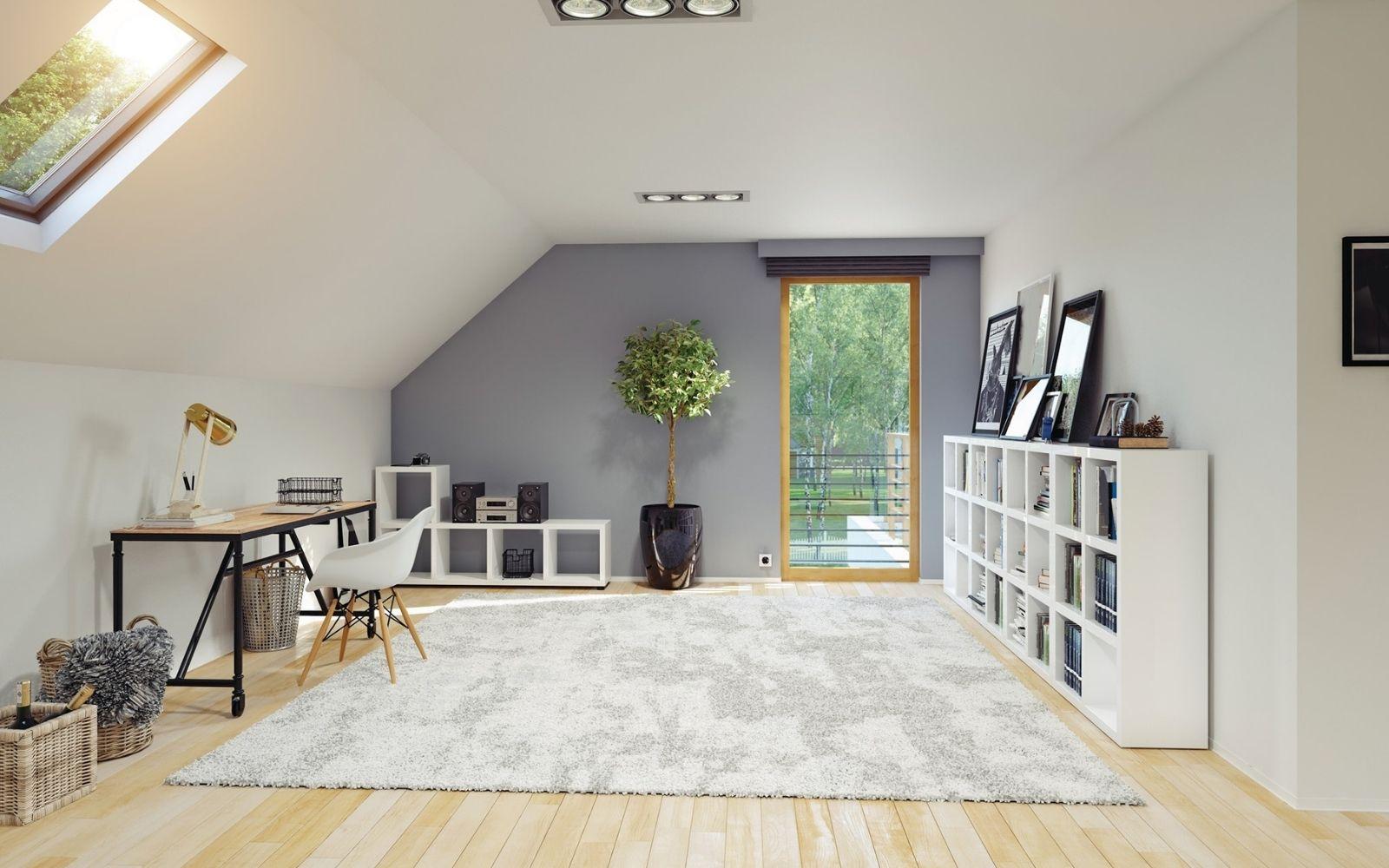Come rendere la mansarda una stanza bella e luminosa3