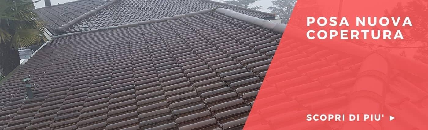 posa copertura tetto