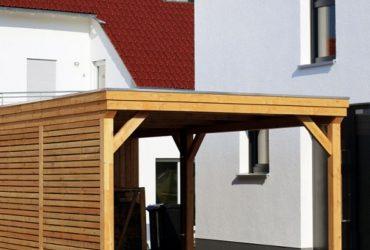 carport tettoia per auto in legno lugano