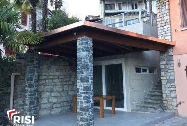 formazione pergola coperta a Lugano_3-RISI Carpenteria SA