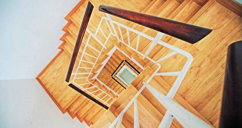 scala-in-legno-interna